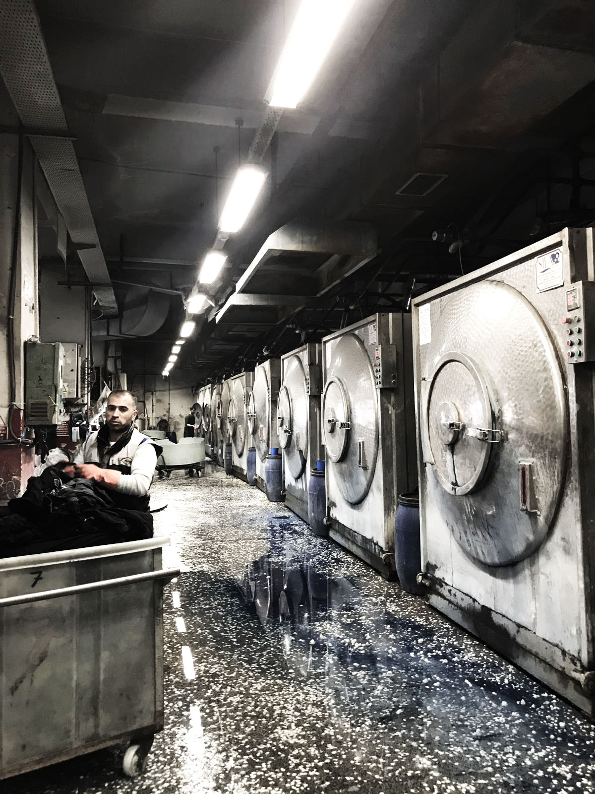 Denim Wash Factory